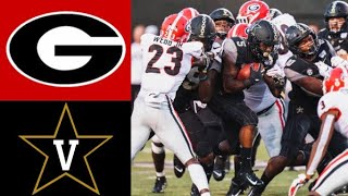 #3 Georgia vs Vanderbilt Highlights | NCAAF Week 1 Highlights | College Football Highlights