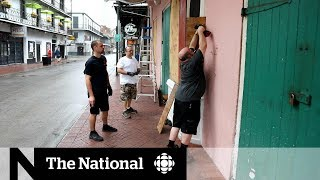 Tropical storm Barry heads for New Orleans