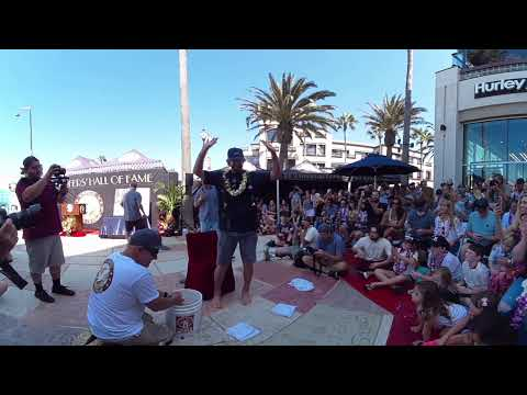 360-Video of BRETT SIMPSON'S Surfing-Hall-of-Fame Ceremony