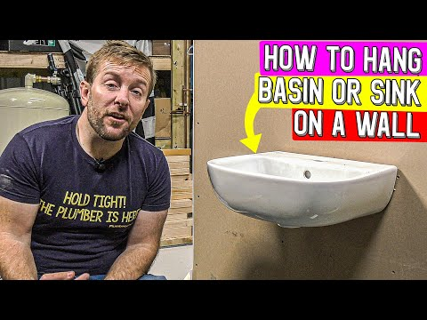 HOW TO FIX A SINK OR BASIN TO A WALL - SinkFix review