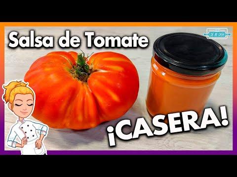 ? Cómo hacer SALSA de TOMATE CASERA y Cómo CONSERVARLA ?TRUCOS y CONSEJOS ?