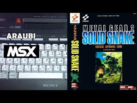 Metal Gear 2 (Konami, 1990) MSX2 [800] Walkthrough