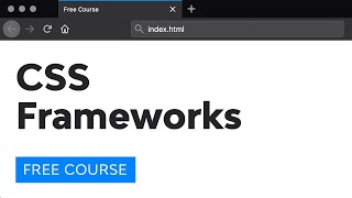 Day 25: CSS Frameworks (30 Days to Learn HTML & CSS)