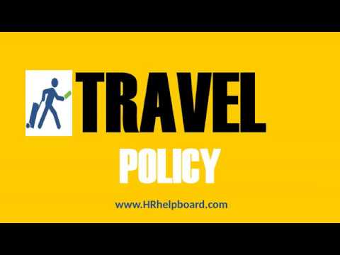 Travel Policy and Norms for Employees of Company - Hrhelpboard