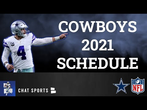 Dallas Cowboys 2021 NFL Schedule, Opponents And Instant Analysis