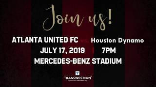 Join Transwestern for the Atlanta United vs. Houston Dynamo