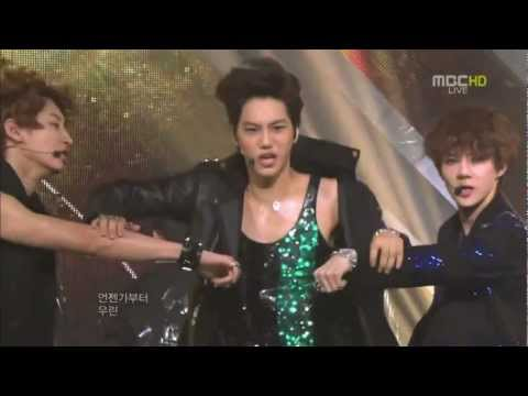 120428 EXO-K Kai's HOT & SEXY Focus on Music Core [720p]