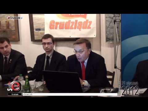 Podpisanie porozumienia przez RPP i SD w Grudziądzu