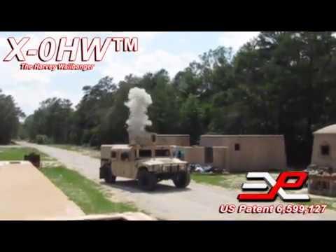 "Explotrain's X-OHW ""Harvey Wallbanger"" Battlefield Effects Blast Simulator"