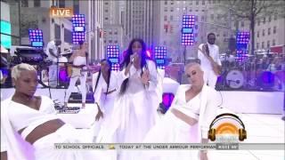 Ciara - I Bet Remix (Today Show 5-5-15)