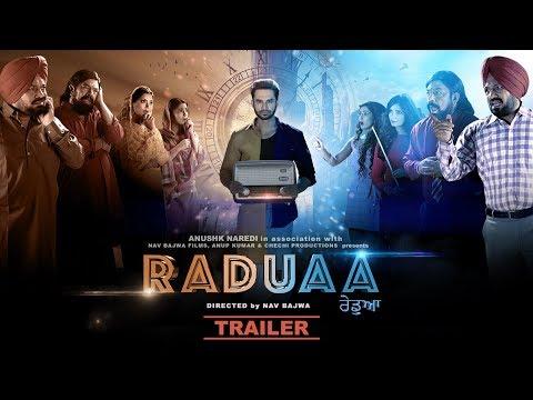 Raduaa - Official Trailer - Nav Bajwa, Gurpreet Ghuggi, B N Sharma