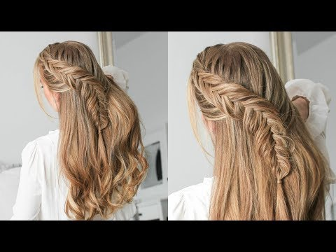 Half Up Dutch Fishtail Braid | Missy Sue