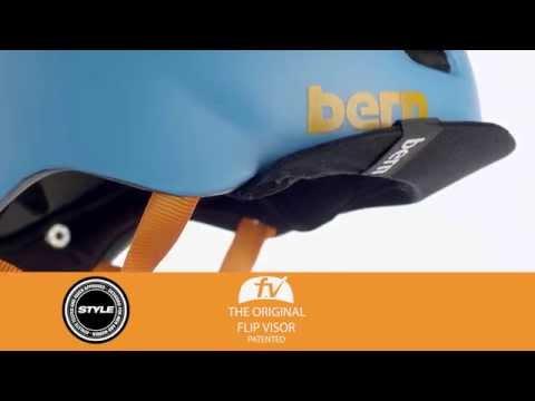 Video BERN BRENTWOOD W Matt Sand Helmet
