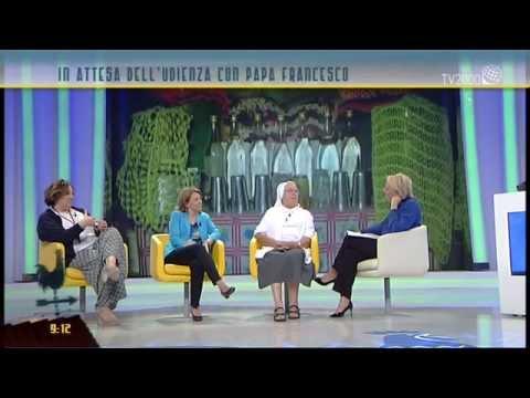 sr Laura a TV2000 Il respiro di Dio parte1