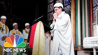 Notre Dame Hosts First Mass Since Devastating Fire | NBC News