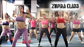 22 Mins Aerobic reduction of belly fat quickly l Aerobic dance workout full video l Zumba Class