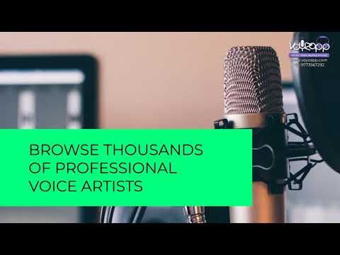 Voyzapp - Professional voice overs @50% discount! Login Now or Call - 9773567292