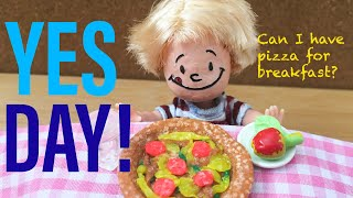 """""""Yes Day!"""" Read Aloud with Custom Dolls and Toys + Fun Outtakes"""