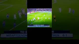 Barcelona's UNBELIEVABLE last minute goal from Sergi Roberto for Barcelona 6-1 PSG