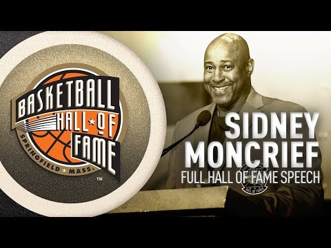 Sidney Moncrief | Hall of Fame Enshrinement Speech