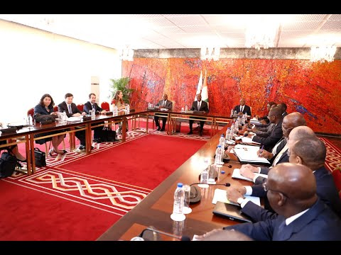 Le Président de la République a eu une rencontre avec une Mission du FMI