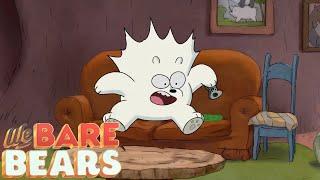 We Bare Bears - Ice Bear's Fear Of Cucumbers (Clip)