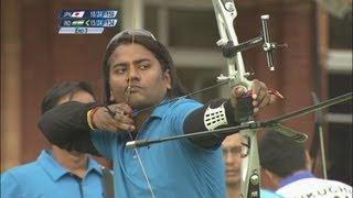 Japan Win Archery Team 1/8 Eliminations - London 2012 Olympics