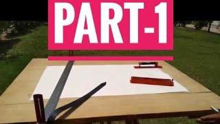 Part-1 Explain Plane Table Surveying &  Radiation Method In Hindi