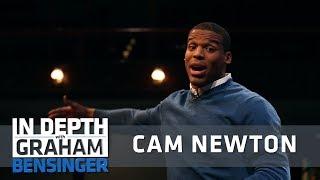 Cam Newton simulates play calling, imitates Peyton Manning