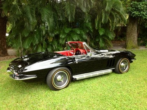 1966 Corvette Stingray Roadster 427/450 HP