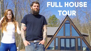 Full House Tour   Family Builds Home With No Experience