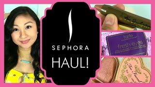 AprilAthena7 – Sephora Haul & Swatches!