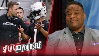 Resistance to Kingsbury will hinder the growth of Kyler Murray — Whitlock | NFL | SPEAK FOR YOURSELF