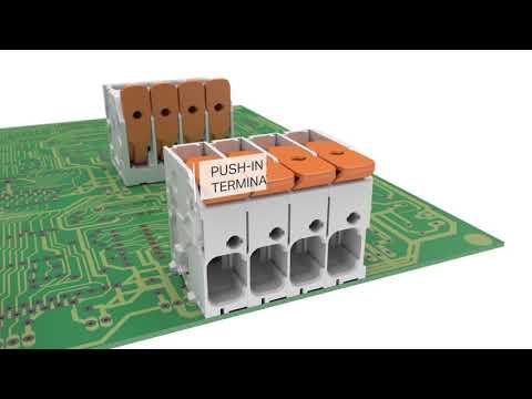 Wago PCB Terminal Blocks for Power Electronics