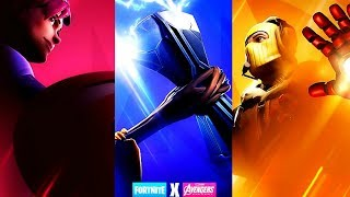 Fortnite X Avengers Crossover Update Countdown + Gameplay! (Fortnite New Update)