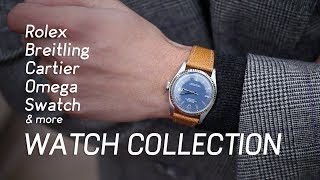 My Rolex, Cartier, and Breitling Watch Collection (& More)