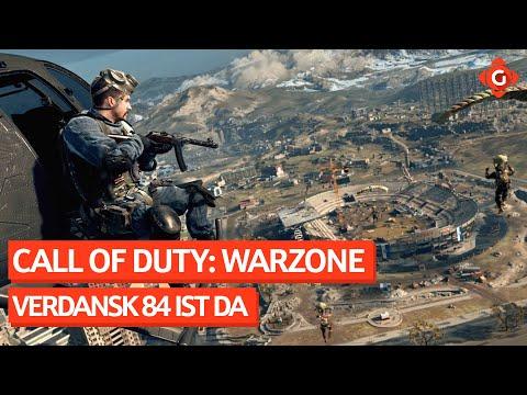 Call of Duty: Warzone: Verdansk 84 ist da. Battlefield 6: Bald mehr Infos!   GW-News 23.04.21