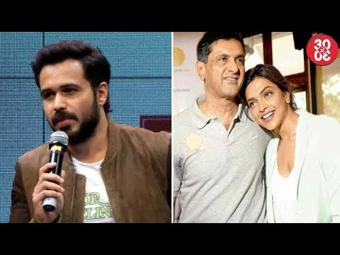 Emraan: 'I Have Taken A Break From Kissing' | Dad's Letter To Deepika Gets Featured As Textbook