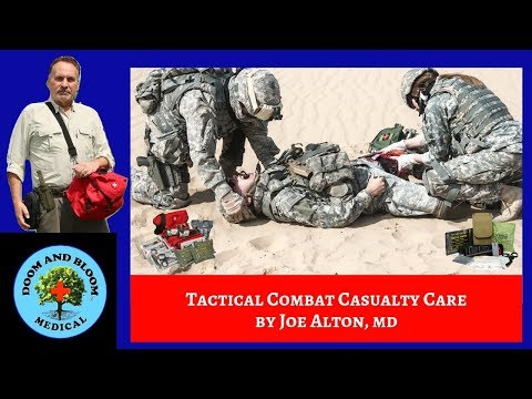 Tactical Combat Casualty Care and MARCH/PAWS Algorithm
