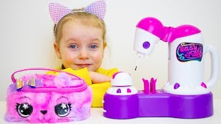 Gaby and Alex Pretend Play with Mama and Toys | Compilation video for kids