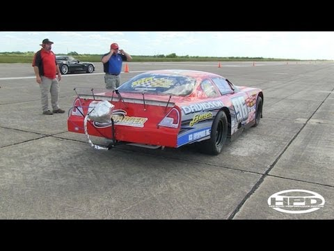 240mph ProCharged Stock Car - Texas Mile
