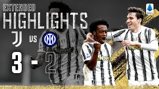 Juventus 3-2 Inter | Cuadrado Secures Derby Victory with Late Penalty! | EXTENDED Highlights