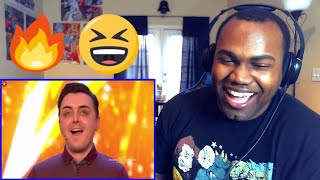 Marc Spelmann gets the first Golden Buzzer of 2018 | Auditions Week 1 | BGT 2018 REACTION