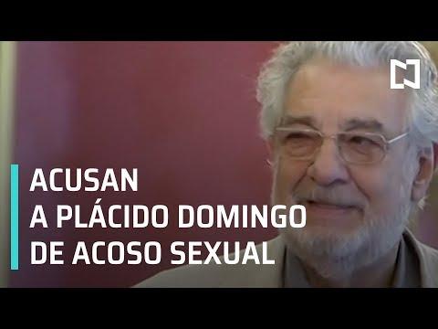Plácido Domingo acusado de acoso sexual - Las Noticias