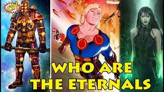 Who Are Eternals || MCU Phase 4 Explained || #ComicVerse