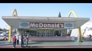 World's Oldest McDonald's Restaurant - Downey - California
