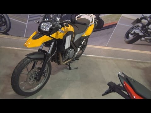 BMW Motorrad G 650 GS (2016) Exterior and Interior in 3D