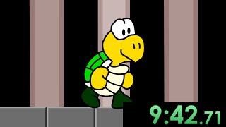 I tried speedrunning A Koopa's Revenge and finally gave Mario exactly what he deserves