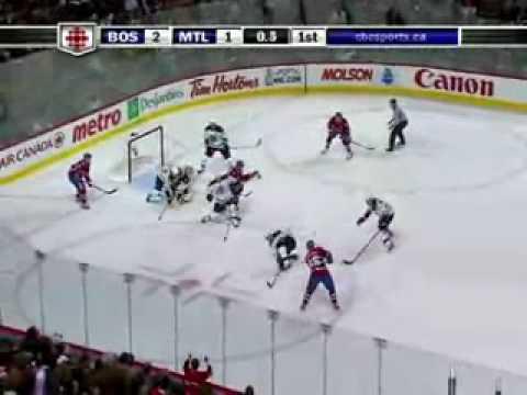 Bruins @ Canadiens Game 4 4-22-09