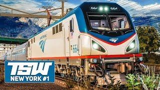 TSW: NORTHEAST Corridor NEW YORK #1: Mit der Amtrak ACS-64 durch New York!   TRAIN SIM WORLD deutsch